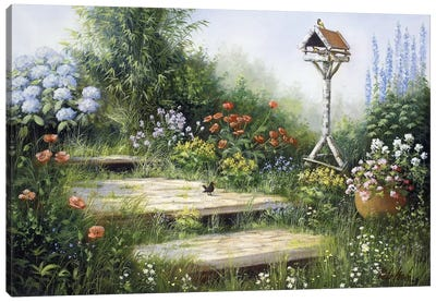 Song Of The Birds Canvas Art Print