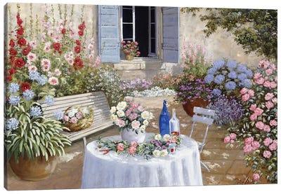 Sparkling Scene Canvas Art Print