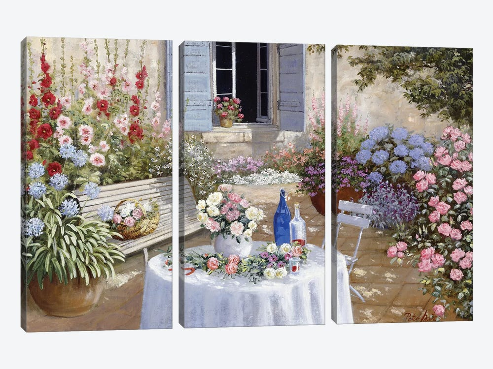 Sparkling Scene by Peter Motz 3-piece Canvas Art