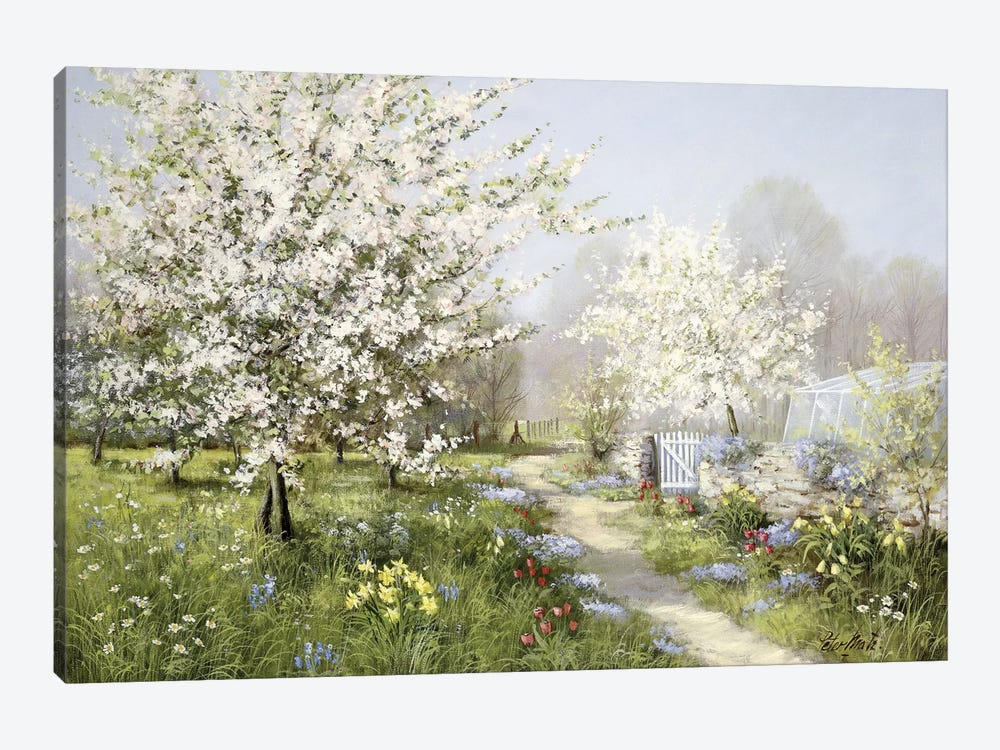 Spring Blossoms by Peter Motz 1-piece Canvas Art