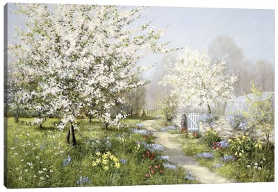 Spring Blossoms Canvas Art Print