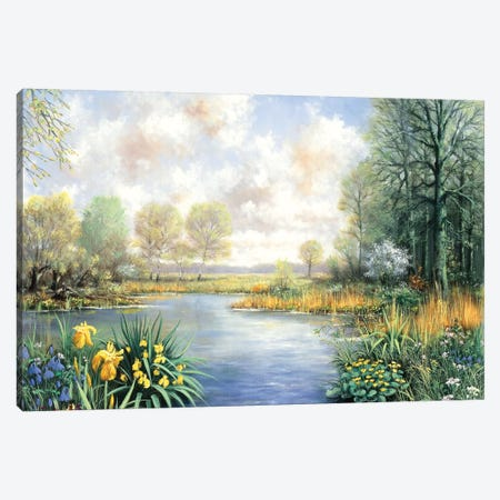 Spring Time Canvas Print #MTZ46} by Peter Motz Canvas Art Print
