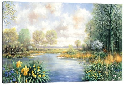Spring Time Canvas Art Print