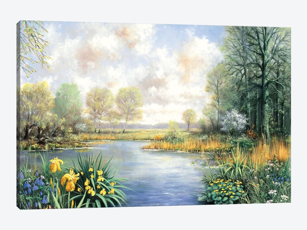 Spring Time by Peter Motz 1-piece Canvas Art