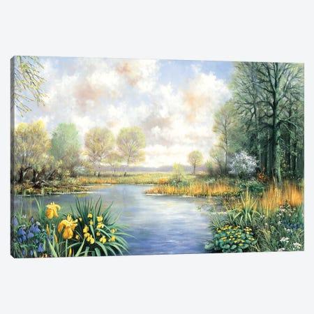 Spring Time Canvas Print #MTZ46} by Peter Motz Canvas Art Print