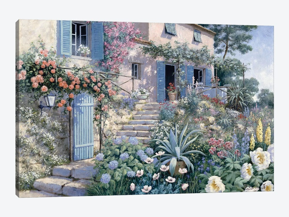 Stairs To… by Peter Motz 1-piece Canvas Art Print