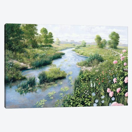 Summer Canvas Print #MTZ48} by Peter Motz Canvas Wall Art