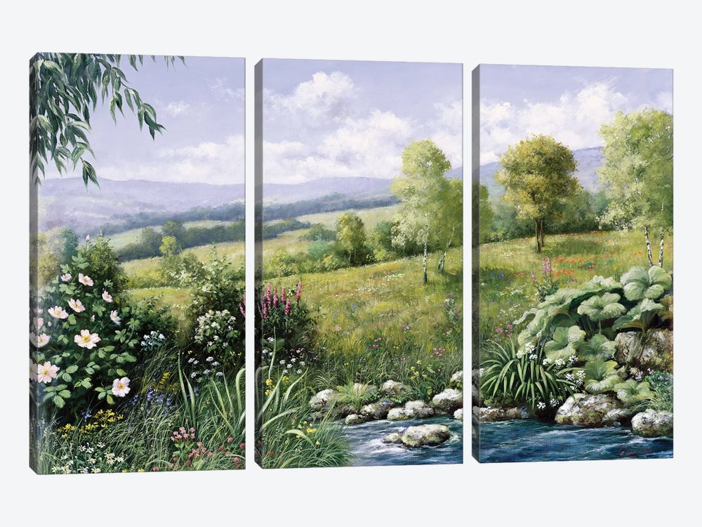 Summer Time by Peter Motz 3-piece Art Print