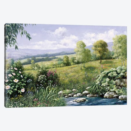 Summer Time Canvas Print #MTZ50} by Peter Motz Canvas Print