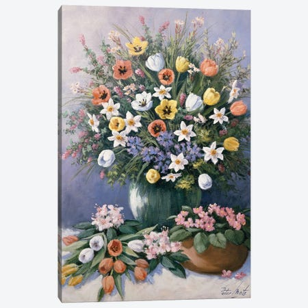 Summer's Glory Canvas Print #MTZ51} by Peter Motz Art Print