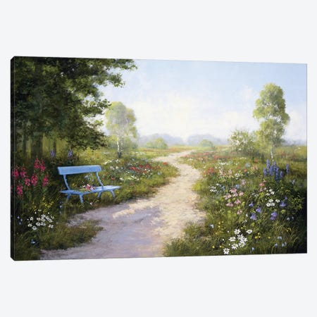Taking A Rest Canvas Print #MTZ52} by Peter Motz Art Print
