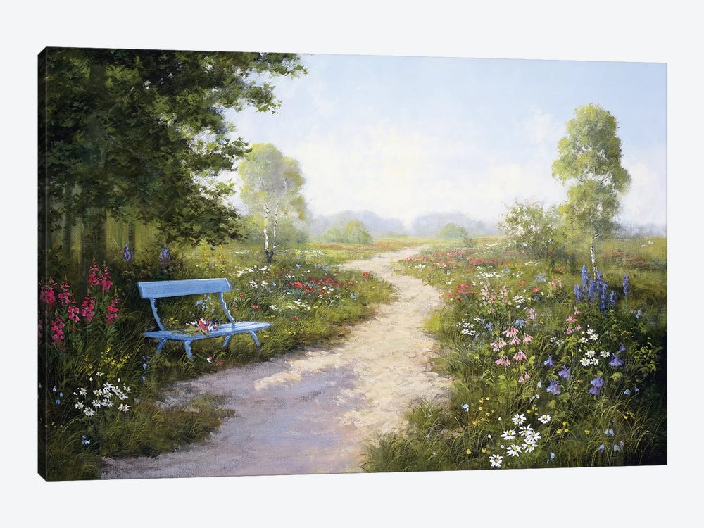 Taking A Rest by Peter Motz 1-piece Canvas Art Print