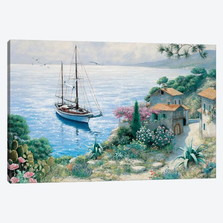 The Bay Canvas Print #MTZ53} by Peter Motz Art Print