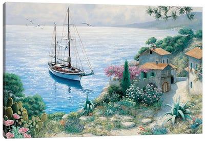 The Bay Canvas Art Print