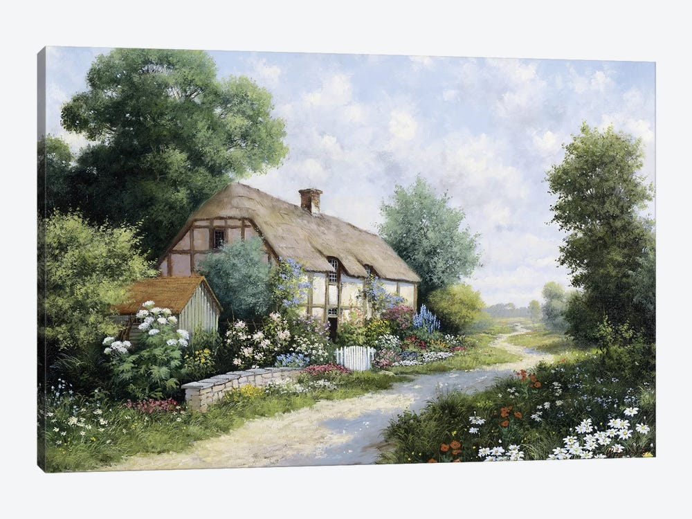The Country House by Peter Motz 1-piece Canvas Print
