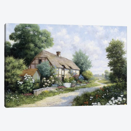 The Country House Canvas Print #MTZ54} by Peter Motz Canvas Artwork
