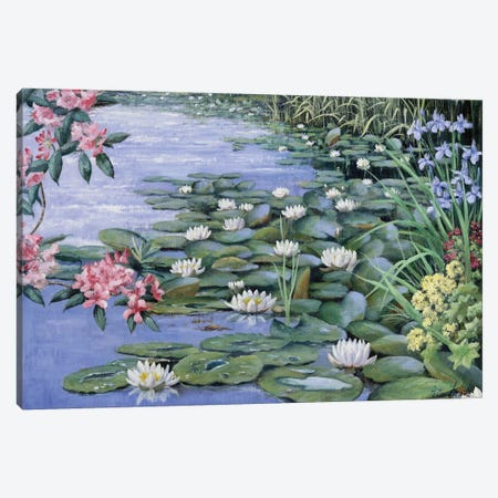 The Lake Canvas Print #MTZ55} by Peter Motz Canvas Wall Art