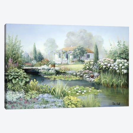 Treasure Garden Canvas Print #MTZ57} by Peter Motz Canvas Artwork
