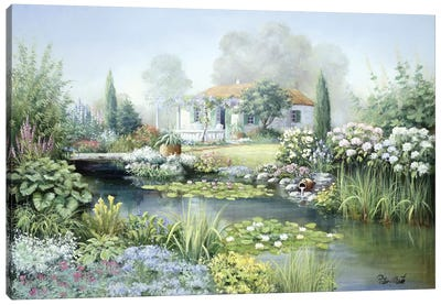 Treasure Garden Canvas Art Print
