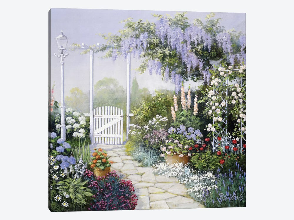 View On My Garden by Peter Motz 1-piece Canvas Print