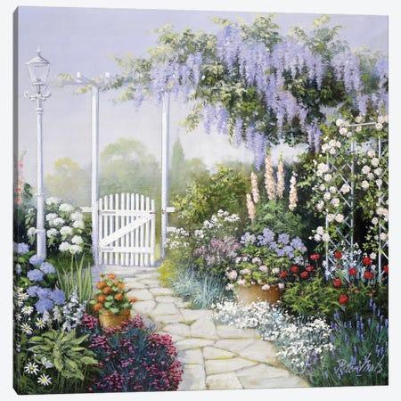 View On My Garden Canvas Print #MTZ58} by Peter Motz Canvas Art Print