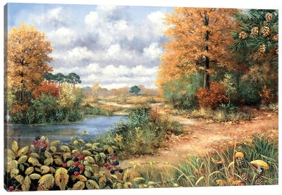 Autumn Time Canvas Art Print