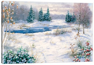 Winter Time Canvas Art Print
