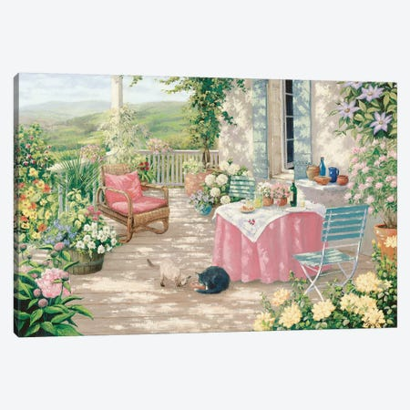 Brunch Canvas Print #MTZ7} by Peter Motz Canvas Art