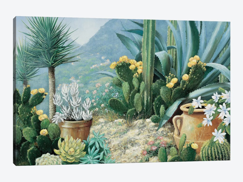 Cactus by Peter Motz 1-piece Canvas Artwork