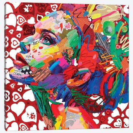 Gioventu' (Cuori) Canvas Print #MUG17} by Antonio Murgia Canvas Art