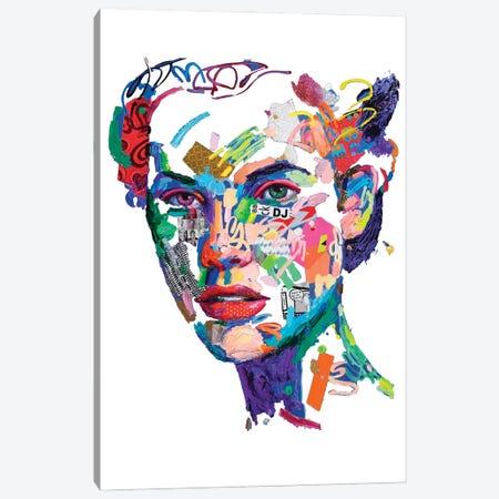 Danzante Bianco Canvas Print #MUG37} by Antonio Murgia Canvas Art