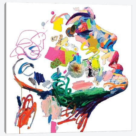 Senza Nuvole Bianco Canvas Print #MUG39} by Antonio Murgia Art Print