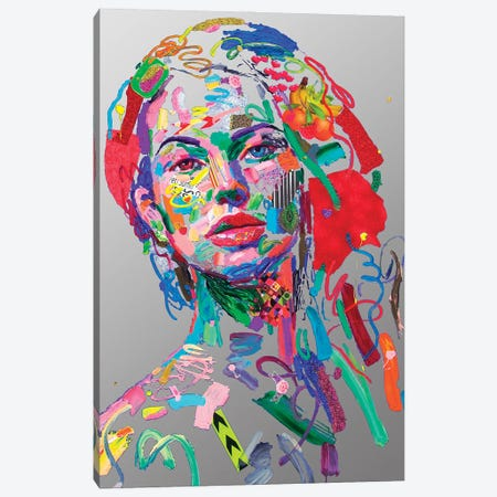 7 Giorni All'Alba (In Silver) Canvas Print #MUG5} by Antonio Murgia Canvas Print