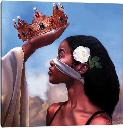 Crown Me Lord – Woman Canvas Art Print