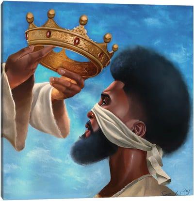 Crown Me Lord (Man) Canvas Art Print