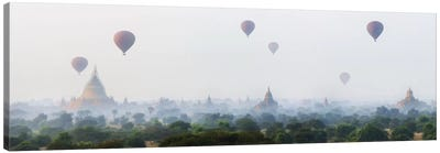Sunrise At Bagan Canvas Art Print