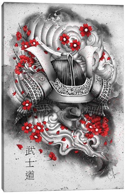 Bushido Canvas Art Print