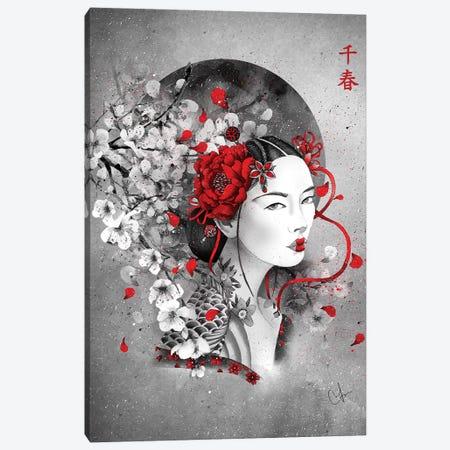 Chiharu Canvas Print #MUP20} by Marine Loup Art Print
