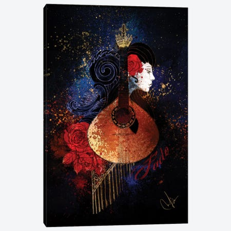 Fado Canvas Print #MUP27} by Marine Loup Canvas Artwork