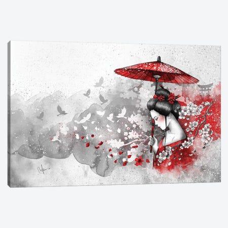 Falling Blossoms Canvas Print #MUP28} by Marine Loup Art Print