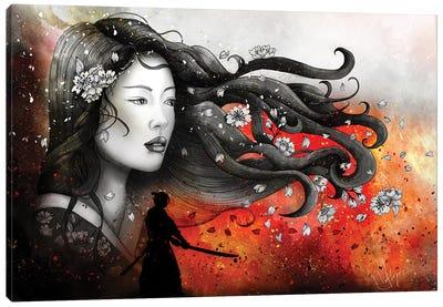 Heart And Heart - No Distance Canvas Art Print