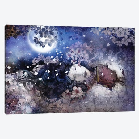 Amdist The Blossoms Canvas Print #MUP2} by Marine Loup Canvas Art