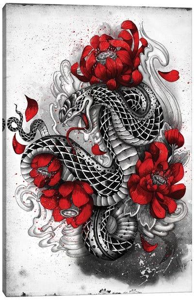 Hebi Canvas Art Print