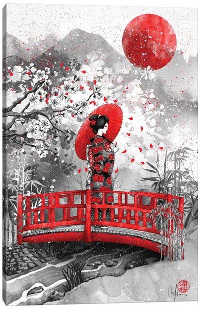Higasa Canvas Art Print