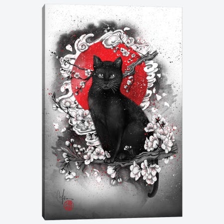 I'm A Cat Canvas Print #MUP33} by Marine Loup Canvas Art