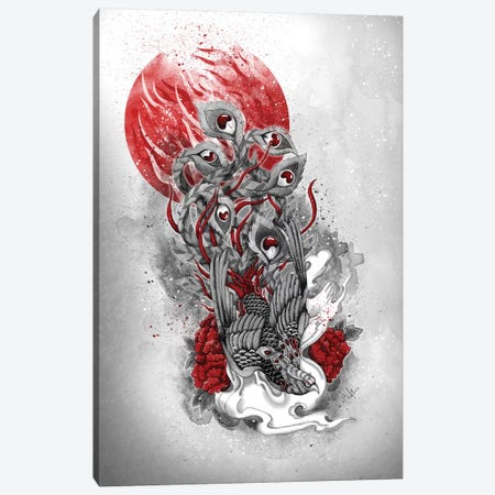 Immortal Bird Canvas Print #MUP34} by Marine Loup Canvas Art Print