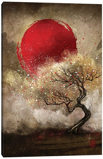 Iroha Canvas Art Print