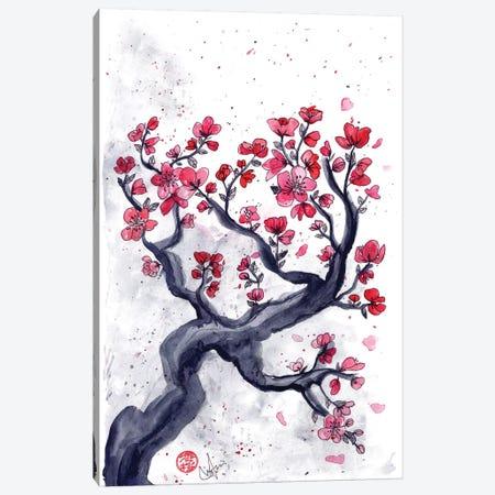 Japanese Plum (Ume) Canvas Print #MUP37} by Marine Loup Canvas Art Print