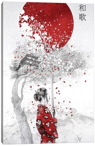 Japanese Poem Canvas Art Print