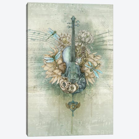 Analog Sound Canvas Print #MUP3} by Marine Loup Canvas Art